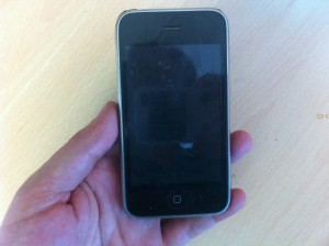 "Mi primer IPhone, el 3G ""heredado"""